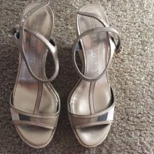 Burberry Wedges Size 37 Barely Worn